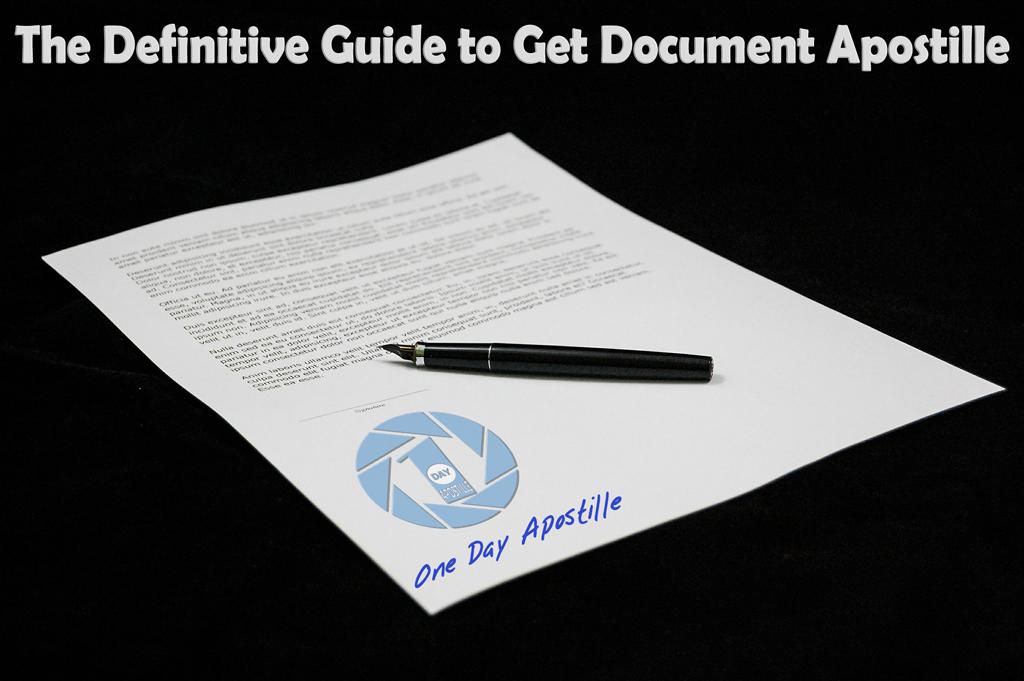 apostille a document